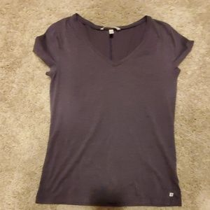 Victoria's secret v neck purple t shirt